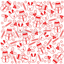 Christmas Pattern Background Impressive Christmas Pattern Background Vector Image 48 StockUnlimited