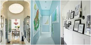 narrow hallway lighting ideas. Ideas For Decorating A Hallway With Contemporary Wallpaper Hallways Dark Narrow Lighting T