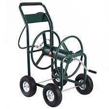 300 ft garden water hose reel cart heavy duty