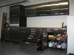 Metal storage cabinets with doors Stainless After Garage Makeover Design With Metal Garage Storage Cabinets With Door Drawer And Wheels Ideas Wayfair After Garage Makeover Design With Metal Garage Storage Cabinets With
