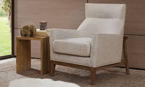 carmen midcentury modern arm chair  haynes furniture virginia's