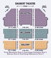 Shubert Theater Nyc Seating Chart High Quality Shubert Theater Nyc Interactive Seating Chart