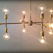 handmade modern contemporary light sculpture multiple light edison bulb chandelier lamp by retro steam works custommade com