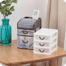 office desktop storage. Office Desktop Storage Box Drawer Type Cosmetic Stationery Mini Plastic Bins D