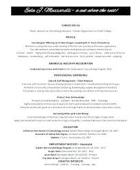 Cosmetology Resume Sample – Hadenough