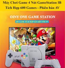 Máy chơi game trò chơi cổ điển OINY ONE máy chơi game điện tử 4 nút 600 trò chơi  IB Gamestation 600 Games Bảo hành 2 năm lỗi 1 đổi 1 trong 7 ngày