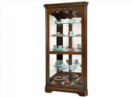 shelf tall glass cherry wood rhrtdoorscom furniture small curio cabinet for corner shelf tall glass jpg