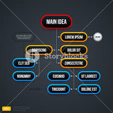 Organizational Chart Template Useful For Web Design Or