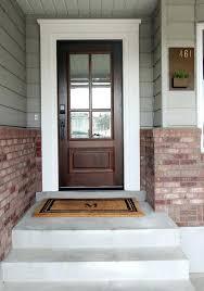 glass front doors exterior steel dark wooden door with 6 panel grey full glass front doors arched with wood