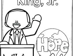 Coloring Page Of Martin Luther King Jr Coloring Pages Martin King Jr