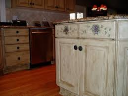 Image Of: Cracked Painting Old Kitchen Cabinets