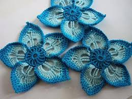 Crochet Flower Pattern Stunning Crochet Flower Pattern Easy Standard In Yarn