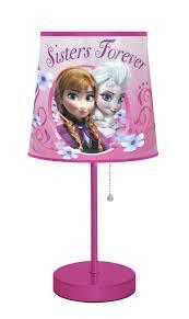room furniture frozen kids disney frozen pink table lamp table lamp