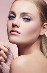 fresh summer makeup idea