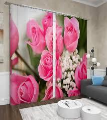 """<b>Фотошторы Сирень</b> """"<b>Крупные розы</b>"""", ФШГБ001-13587, розовый ..."""