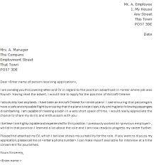 Aircraft Cleaner Cover Letter Sample Lettercv Com