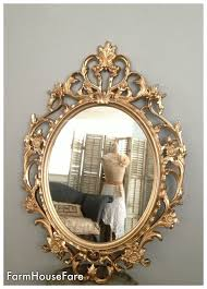 ornate mirrors baroque mirror large