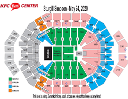 Yum Center Interactive Seating Chart Best Picture Of Chart