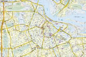 large amsterdam maps for free download and print  highresolution