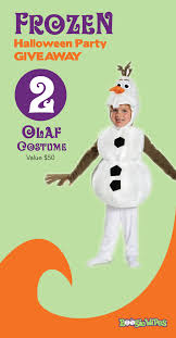 GIVEAWAY WINNER #2 - Olaf Costume - - and the winner is... WENDI BLACK -  Congratulations! Leave a c… | Frozen halloween, Frozen halloween costumes,  Party giveaways
