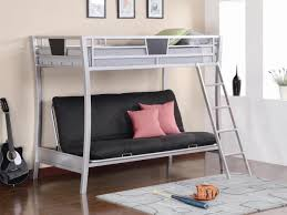 full size of futon powell z bedroom full size metal loft bed with study desk