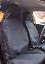 semi tailored van seat covers fitting example