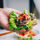 bulgogi  korean barbecued beef  lettuce wraps