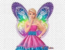 barbie in purple sleeveless gown