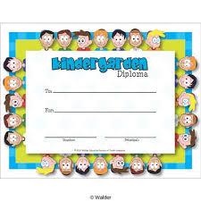 Kindergarten Certificate Of Award Walder Education