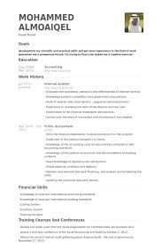 Auditor Sample Resume Exquisite Great Examples Description Detail
