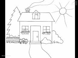 Small Picture Buildings Houses House Coloring Page house coloring pages