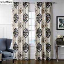 popular modern patterned curtainsbuy cheap modern patterned