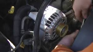 How to replace an Alternator on a Chevy Truck - YouTube