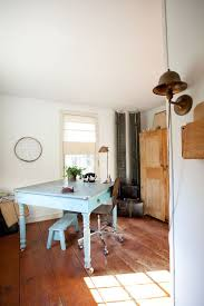 eclectic home office alison. View In Gallery Shabby Chic Style The Home Office Is Easy To Work With [From: Tess Eclectic Alison