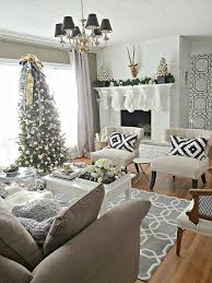 pics of living rooms decorated for christmas. pretty christmas living rooms pics of decorated for