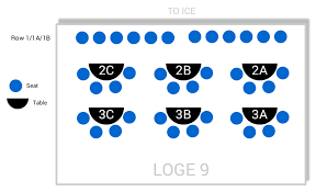 Rogers Seating Chart Edmonton How Are The Rows Numbered In Loge Sections At The Rogers