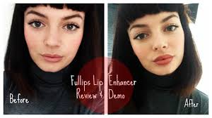 fullips lip plumping enhancer review demo tutorial small oval medium oval large round you