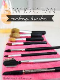 how to clean makeup brushes honey we re home