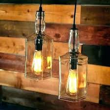wine bottle light fixture how to make pendant lights lamp fittings