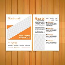 Healthcare Brochure Amazing Medical Brochure Template Vector Free Download