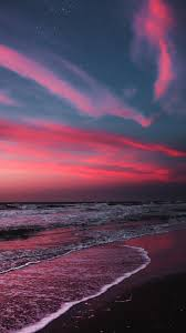 Maybe you would like to learn more about one of these? Beach In The Twilight Sunset Wallpaper Iphone Android Background Followme Scenery Wallpaper Sunset Wallpaper Sky Aesthetic