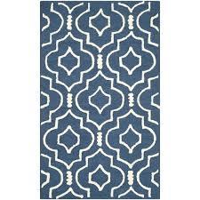 safavieh handmade moroccan cambridge handmade navy blue ivory wool rug best of handmade collection safavieh handmade