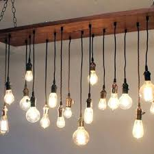 edison bulb chandelier reclaimed barn wood chandelier with varying bulbs edison bulb chandelier battery operated