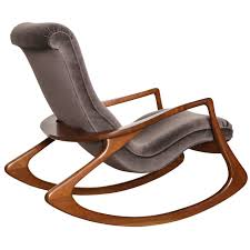 contour rocking chair by vladimir kagan from a unique collection of antique and modern rocking chairs at
