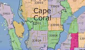 Cape Coral Zip Codes In 2019 Cape Coral Cape Coral