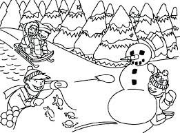 Dltk Winter Coloring Pages Trustbanksurinamecom