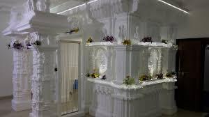 ganpati thermocol makhar decoration gavhan youtube