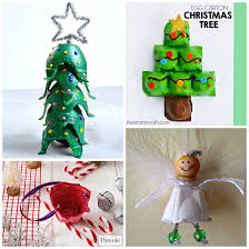 Christmas Projects For PreschoolersChristmas Crafts With Egg Cartons