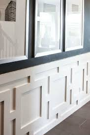 chair rail wainscoting. Chair Rail Molding With And Wainscoting Ideas How To End On T