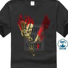 Ragnar T Shirt Design Us 7 27 9 Off Mens Funny Vikings Blood Sky T Shirt Ragnar Lothbrock Rollo History New Merch Design Tops Custom Hipster Tees In T Shirts From Mens